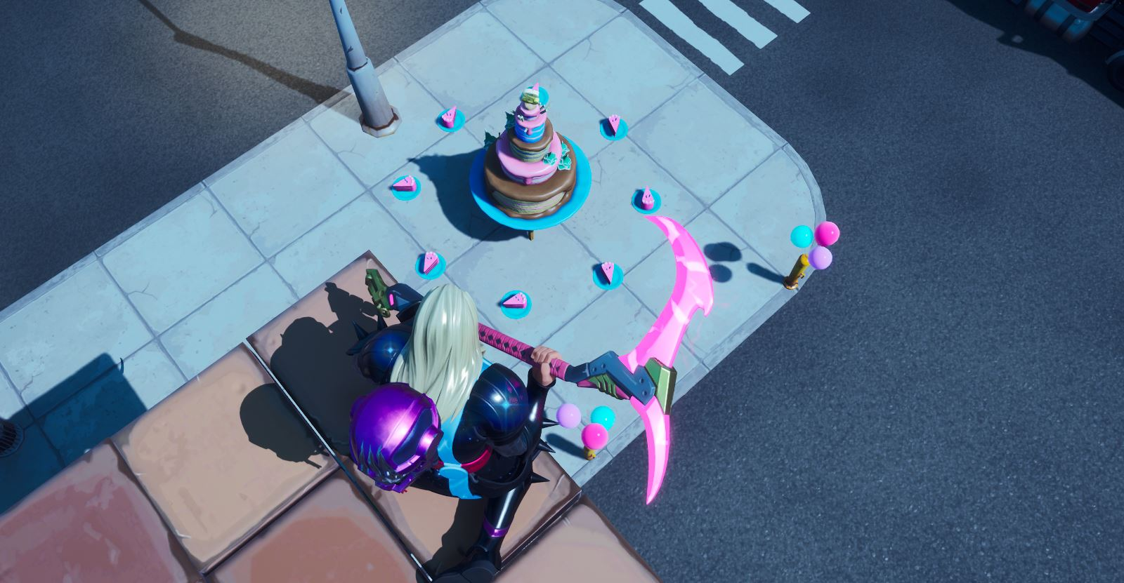 Birthday Cakes Fortnite Where Are The Birthday Cakes In Fortnite Locations 2020 Fortnite Insider