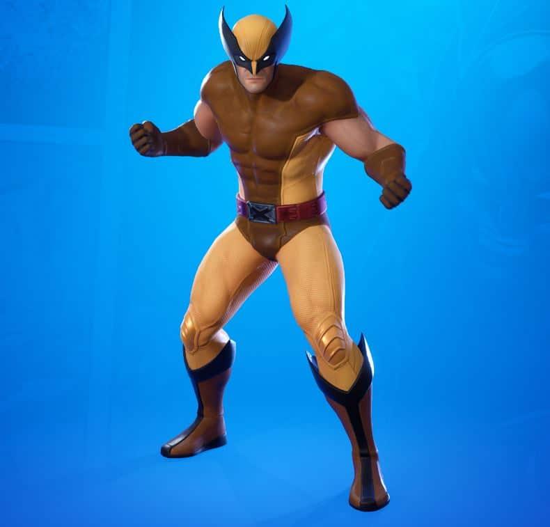 Estilo de piel clásico de Wolverine Fortnite