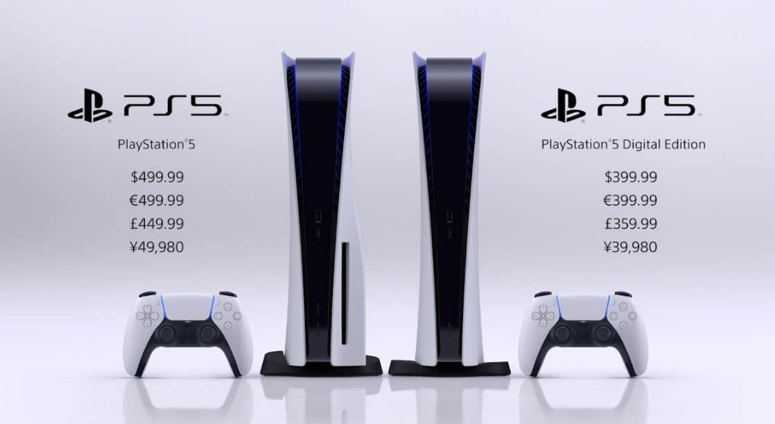 ps5 prices revealed