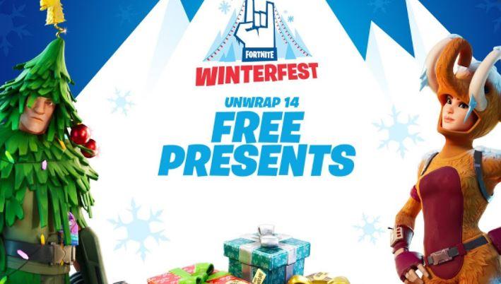 winterfest Fortnite