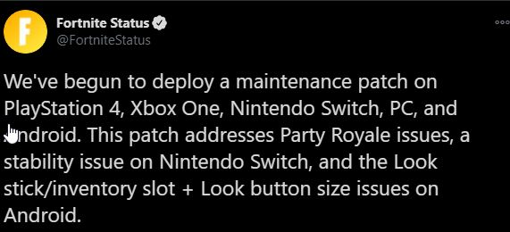 New Fortnite Update Today 2 91 Maintenance Patch Notes Fortnite Insider Following the 'the device' event earlier this week that saw the agency blown up and the storm turned into a sea of water. new fortnite update today 2 91