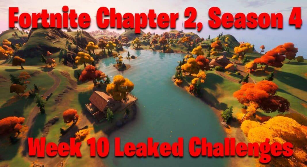 Fortnite Chapter 2, Season 4 Week 10 Leaked Challenges
