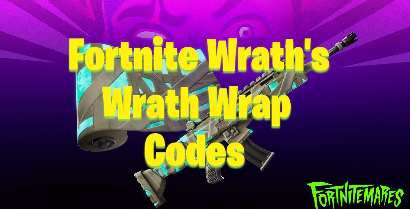Redeem Free Fortnite Codes Free Fortnite Wrath S Wrath Wrap Code All Creative Mysterious Code Digits Fortnite Insider