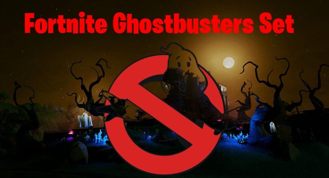 Fortnite Ghostbusters Skins Set