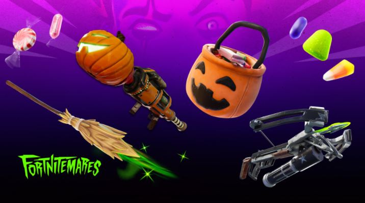 Fortnite Witch Broom and Candy