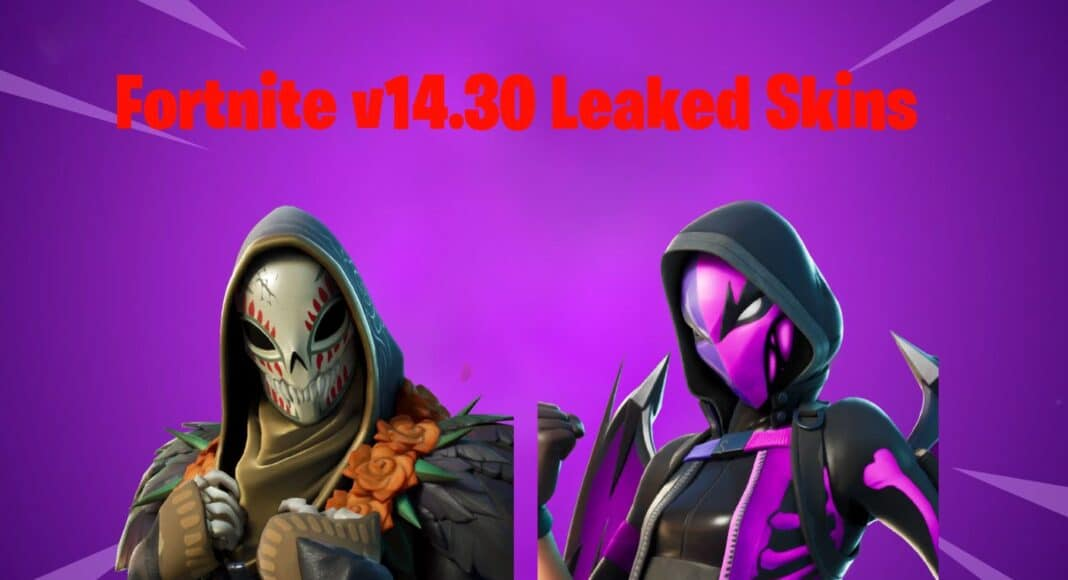 Fortnite v14.30 Leaked Skins & Cosmetics