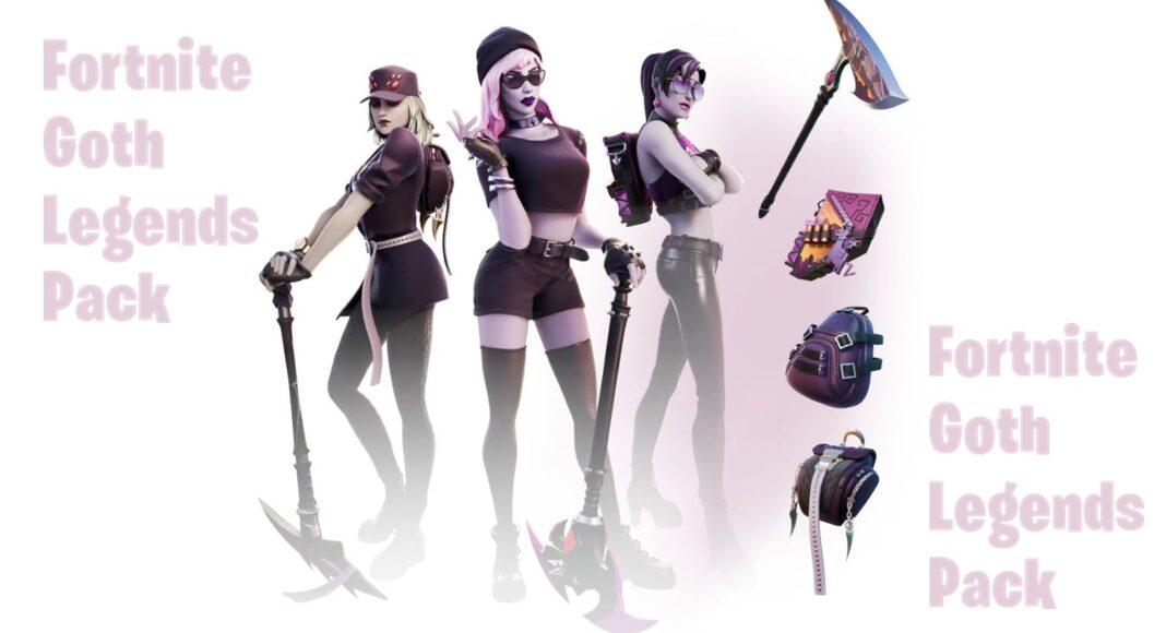 Goth Legends Fortnite Pack