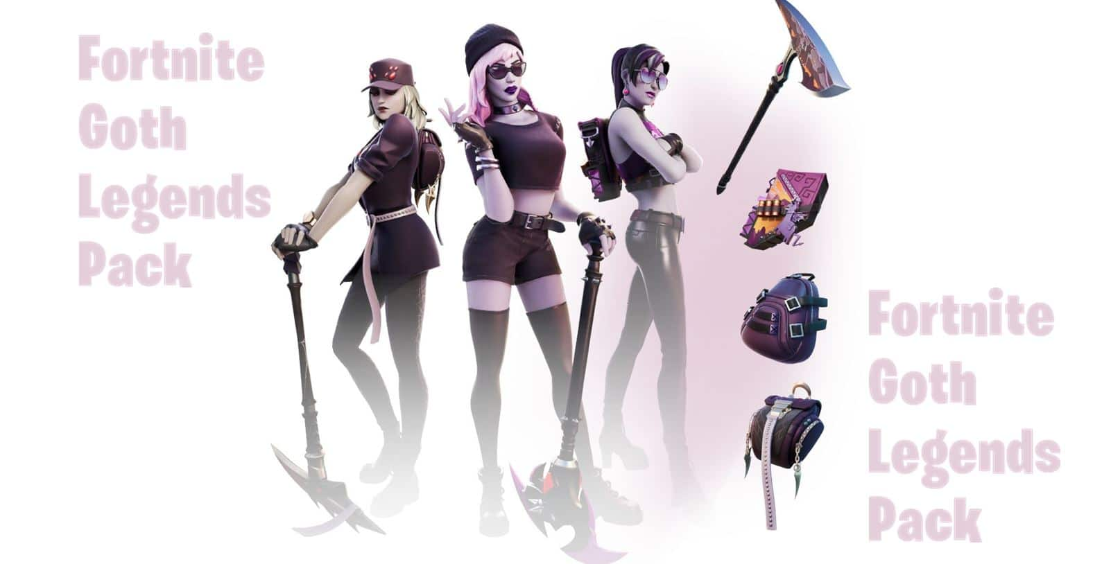 Goth Legends Fortnite Pack