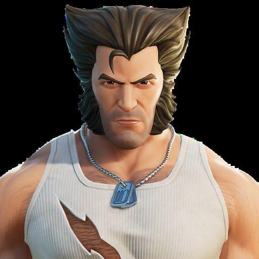 Logan Wolverine Fortnite Skin Style