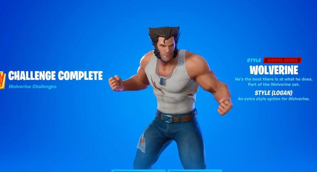 Wolverine Fortnite Logan Skin Style