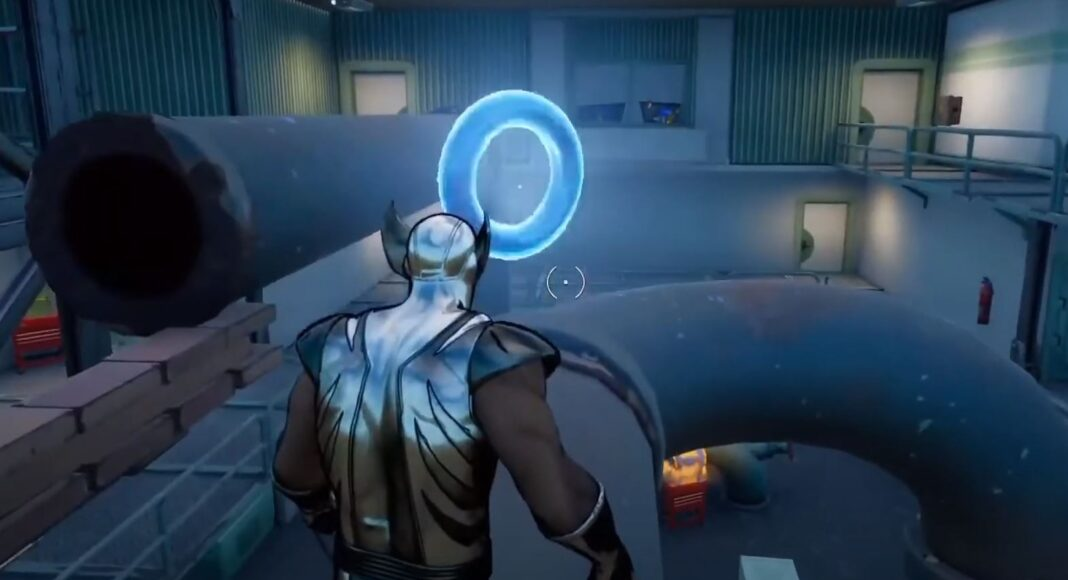 collect floating rings at steamy stacks