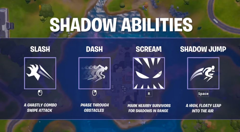shadow abilities in Fortnite