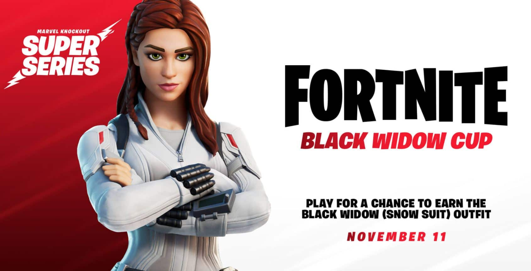 Copa Marvel Viuda Negra Fortnite