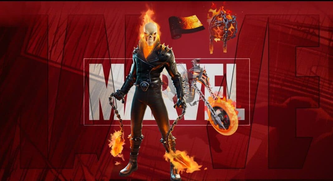 Fortnite Ghost Rider Set Leaked