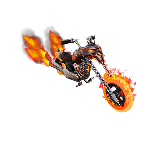 Fortnite Marvel Ghost Rider Glider Leaked- Ghost Glider
