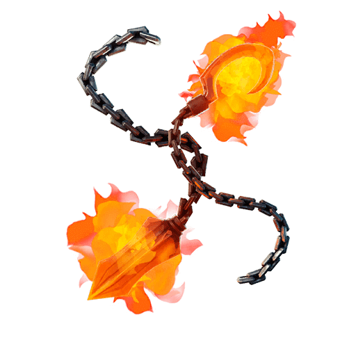 Fortnite Marvel Ghost Rider Pickaxe Leaked-Soulfire Chains