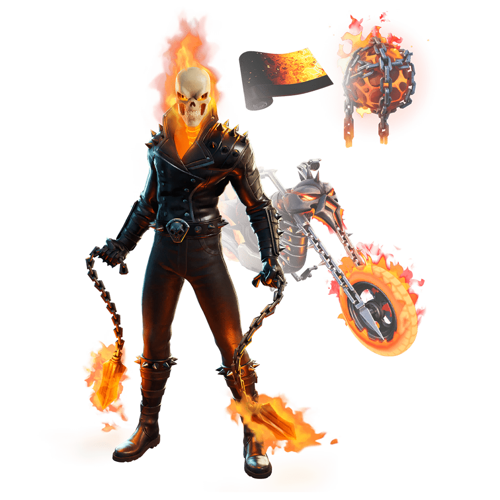 Fortnite Marvel Ghost Rider Set Leaked