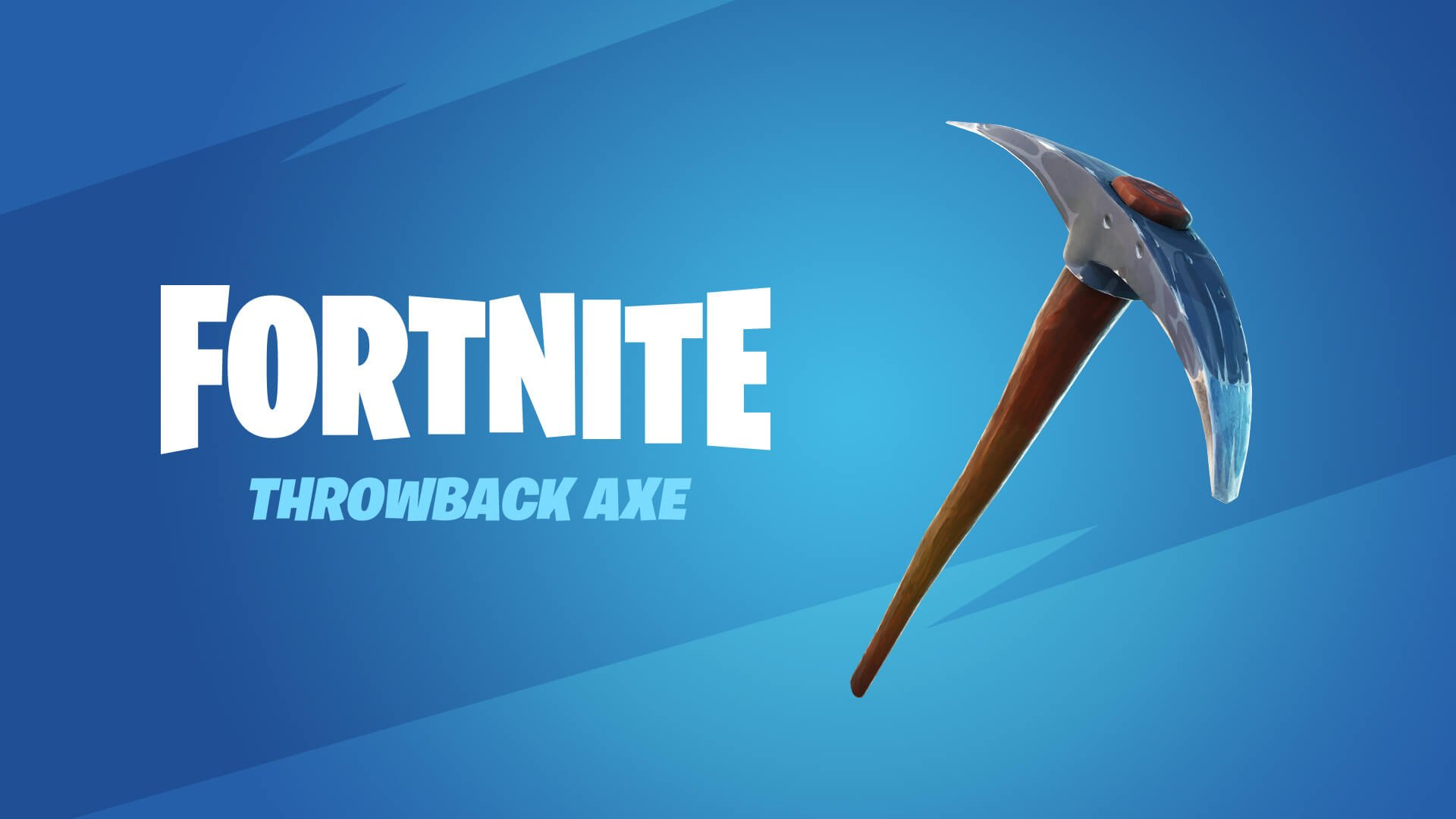 Fortnite Throwback Axe OG Default Pickaxe