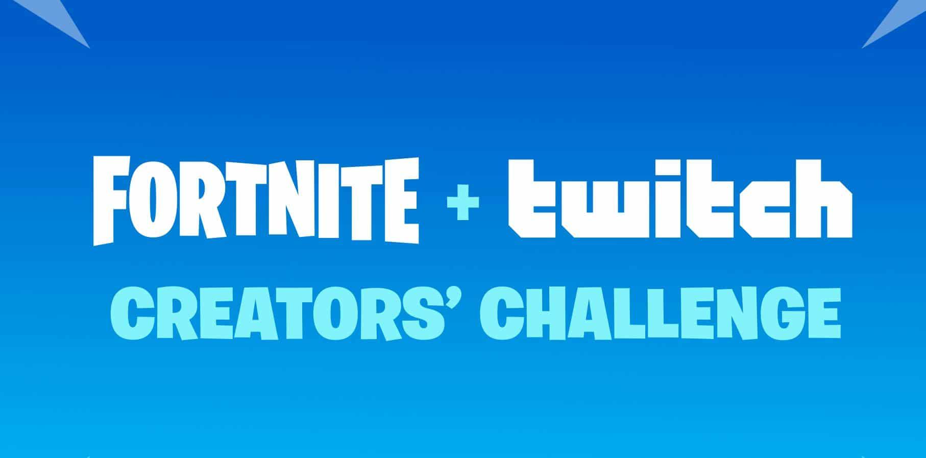 Desafío de creadores de Fortnite Twitch Rewards