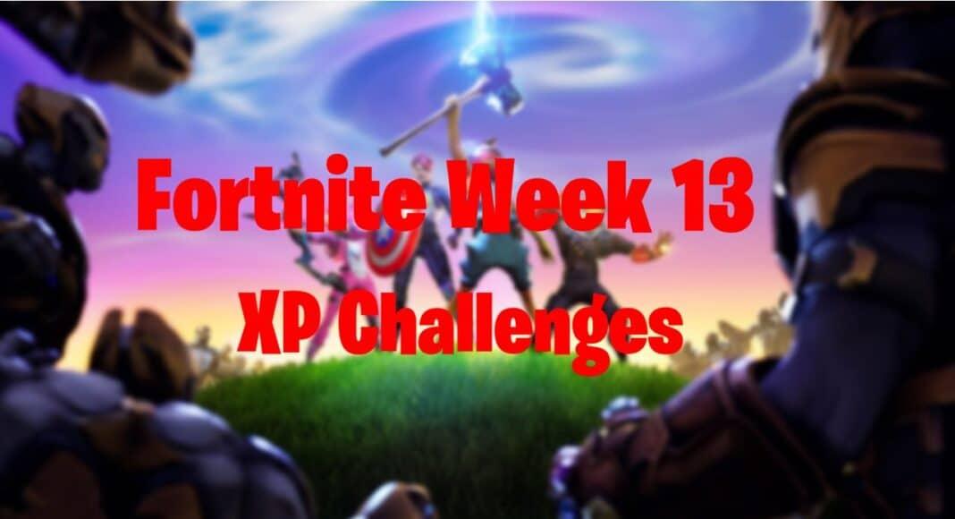 Fortnite Week 13 XP Xtravanganza Challenges