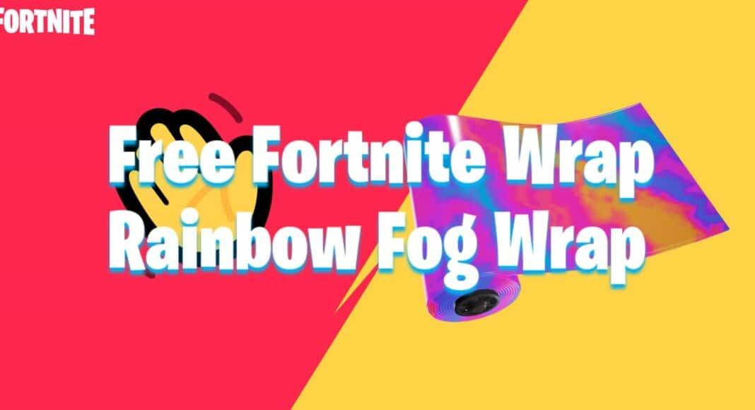 Free Fortnite Rainbow Fog Wrap