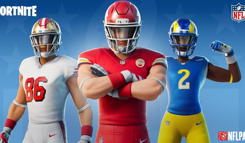 Nuevas pieles de fútbol Fortnite NFL