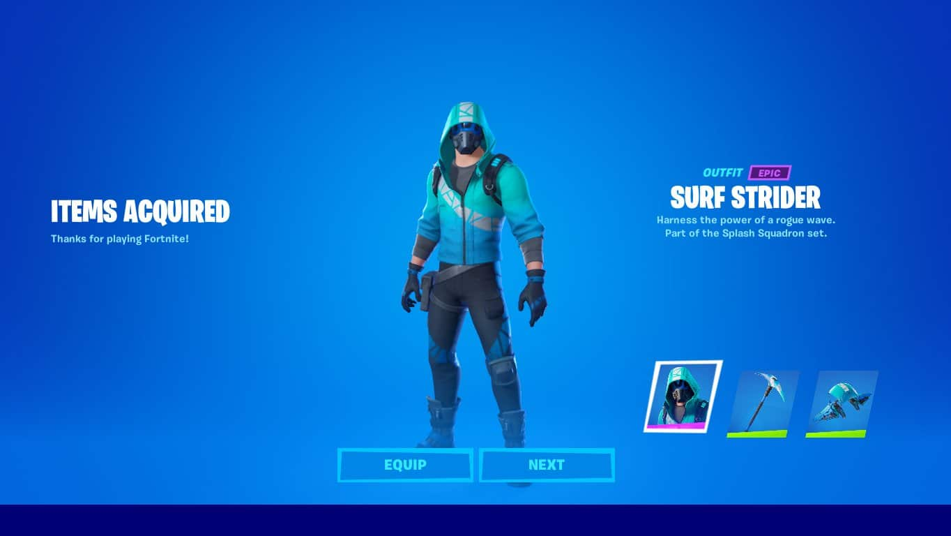 Surf Strider Fortnite Skin