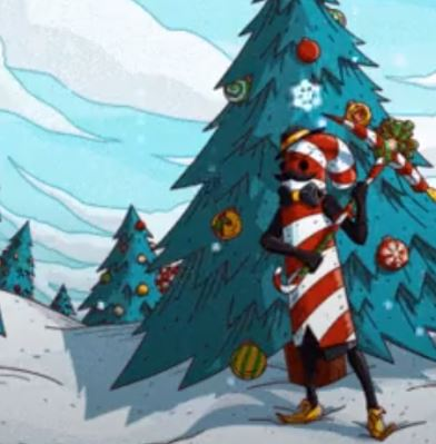 Candy Cane Fortnite Christmas Skin