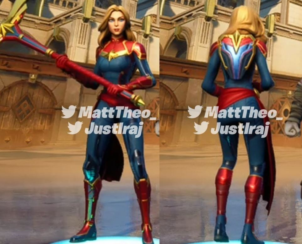 Captain Marvel skin