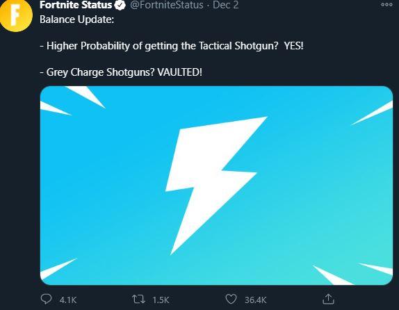 Charge Shotgun Vaulted