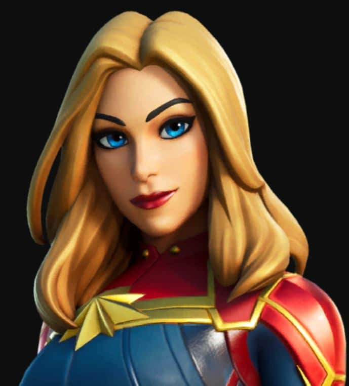 Fortnite Captain Marvel Skin