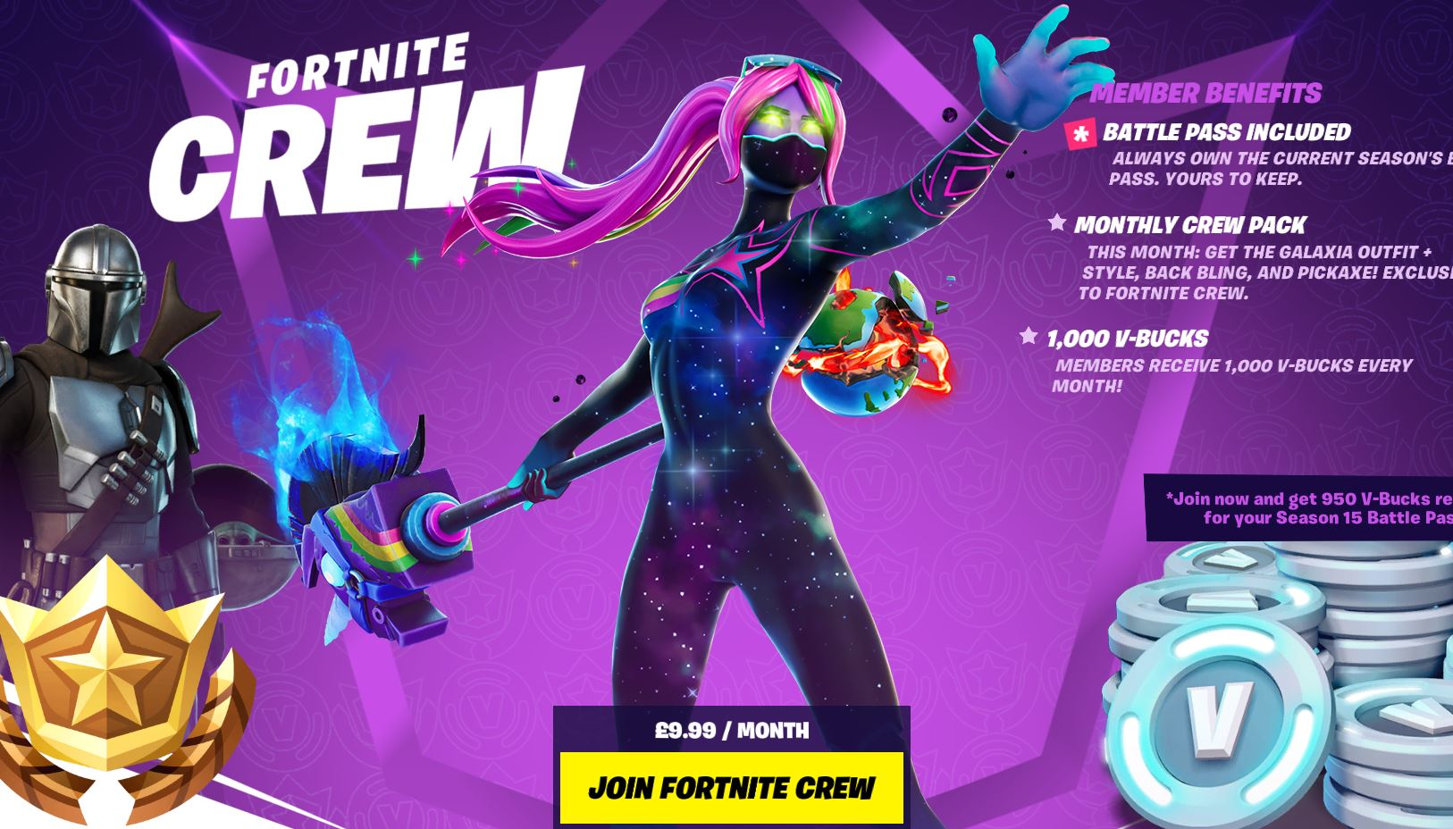 The Fortnite Crew Subscription: How much is it, How to join & How to cancel  crew subscription | Fortnite Insider