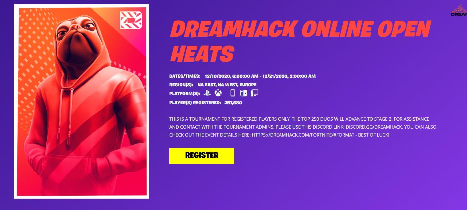 Fortnite Dreamhack December