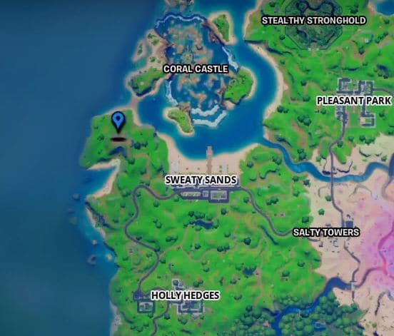 Fortnite Fort Crumpet Map Location