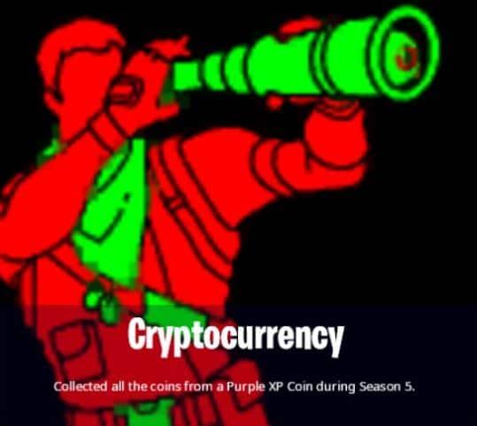 Fortnite Season 5 XP Coins Achievement