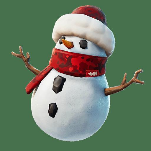 Bonhomme de neige sournois fortnite