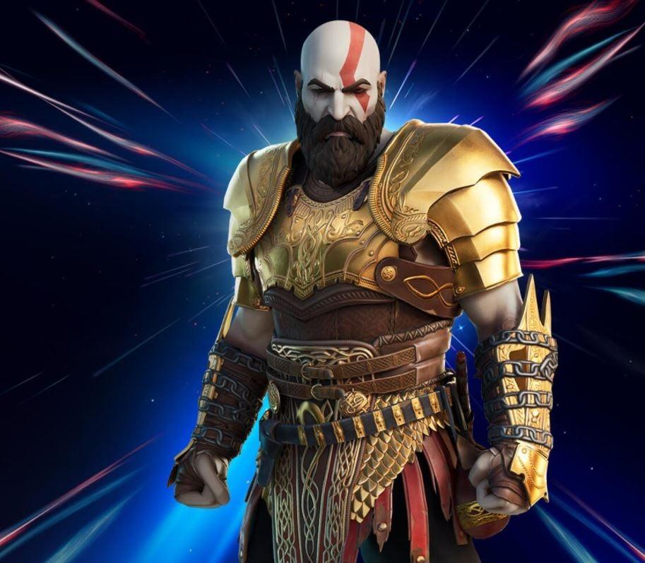 Estilo de piel blindado de Kratos gratis