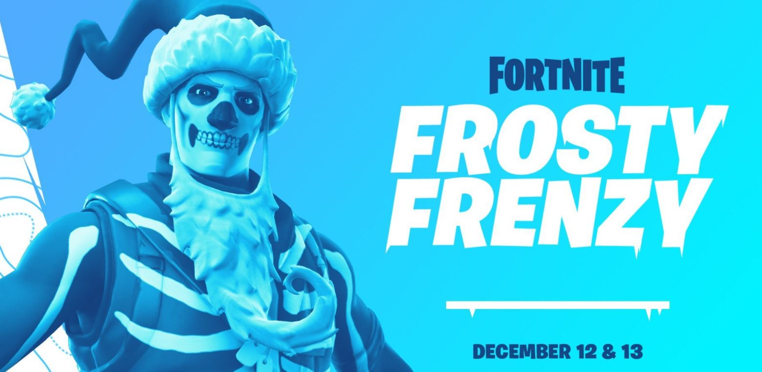 Frosty Frenzy Fortnite Cup