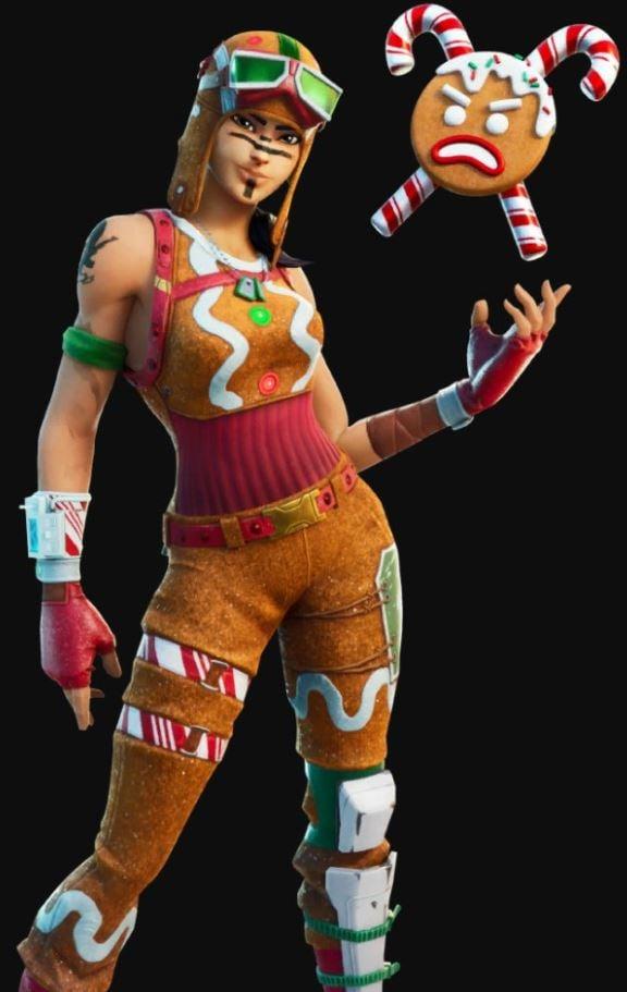 Gingerbread Renegade Raider Skin
