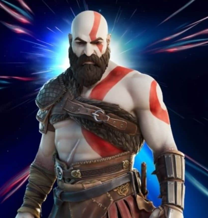 Piel de Kratos en Fortnite