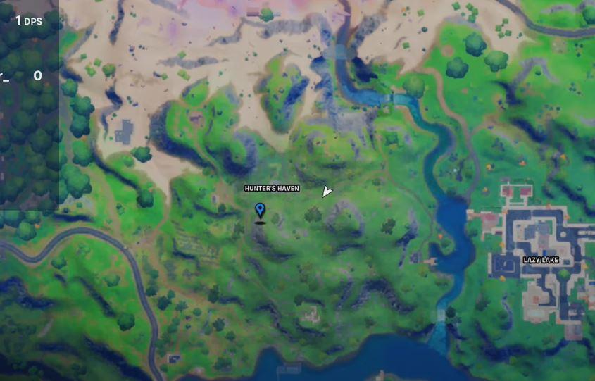 Ubicación de Fortnite de la reserva de jarabe de arce
