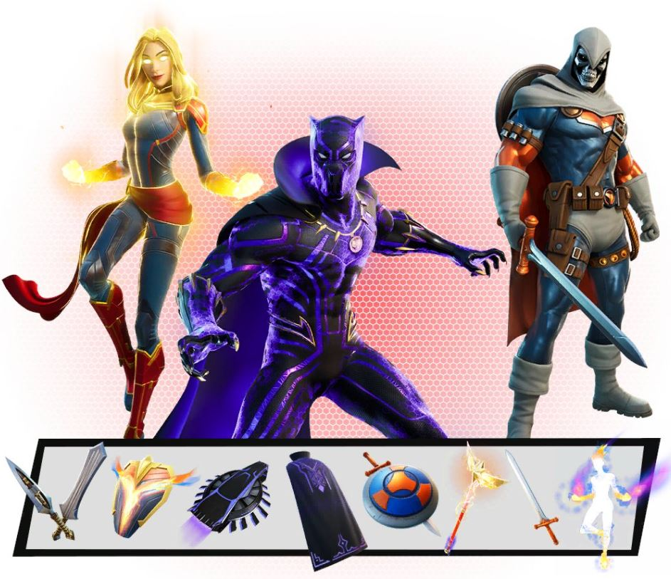 Estilo extra de Marvel Skins