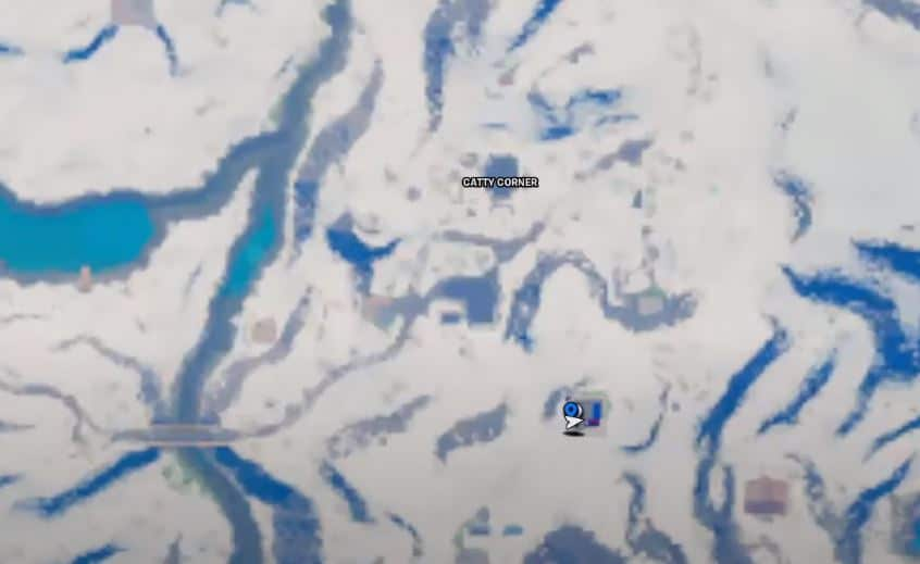 Sneaky Snowmando Fortnite Locations