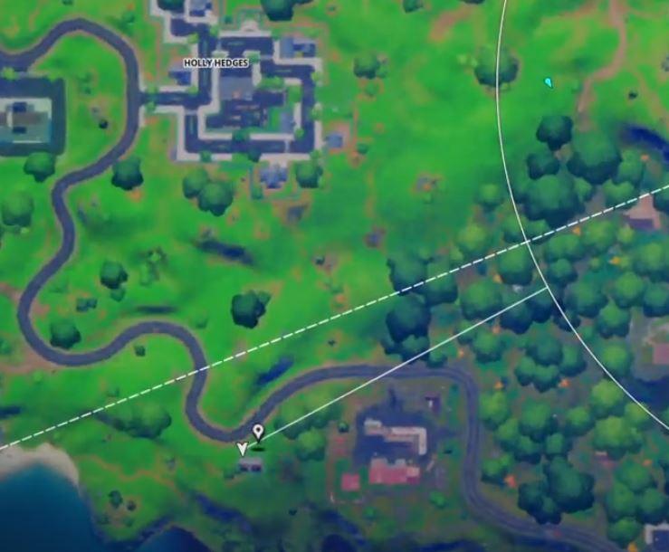 Snowmando outposts Fortnite locations