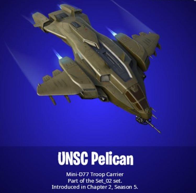 UNSC Pelican Fortnite Glider