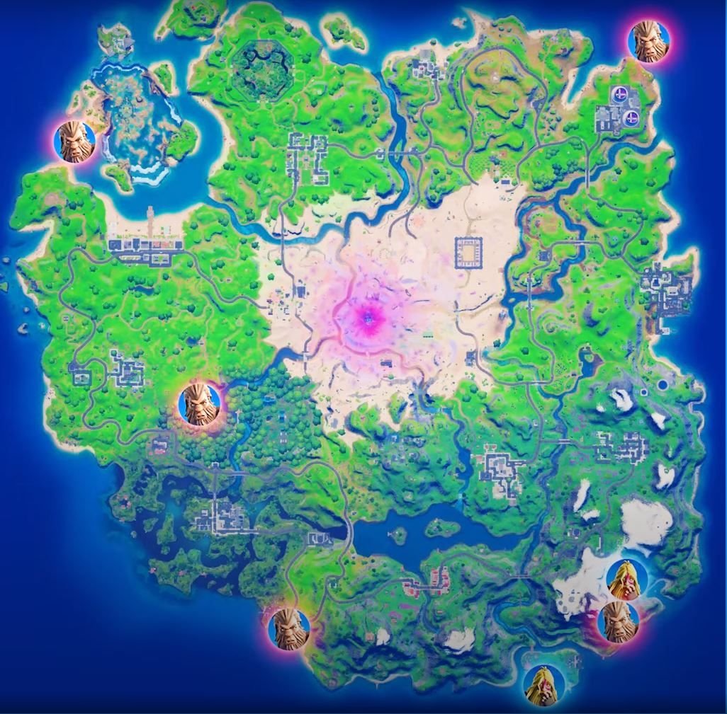 Where to find Bigfoot in Fortnite