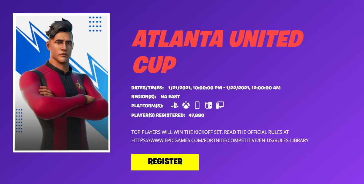 Copa Fortnite Atlanta United
