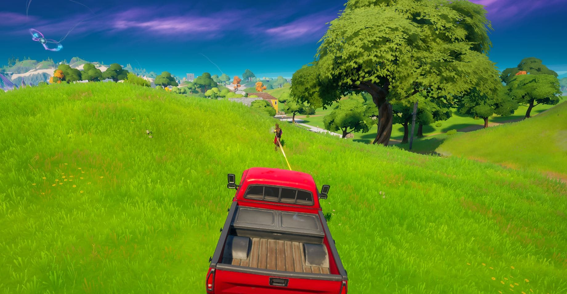 Fortnite Damage Opponents in Vehicles