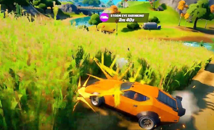 Проезжайте через кукурузное поле
