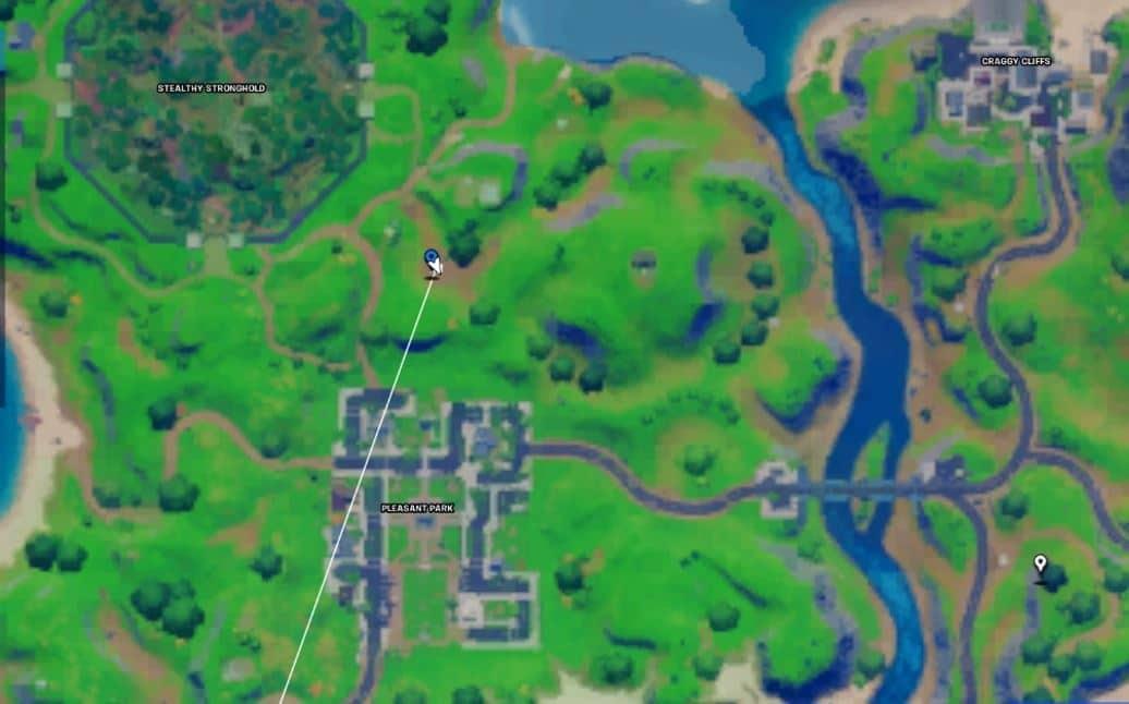 Fortnite Dummy Map Location
